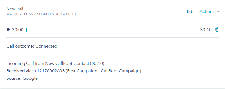 Call Tracking for Hubspot | CallRoot com